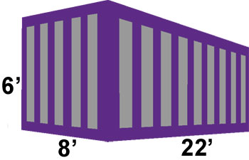 30 yard container for rent from 2 Junk It in Phoenix Arizona